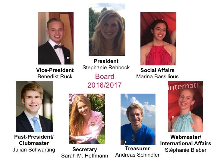 Board of RAC Munich International 2016/2017