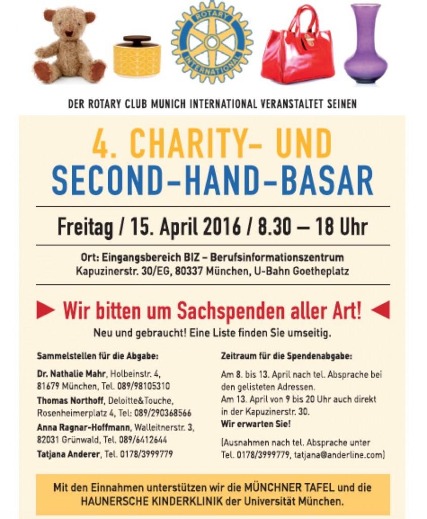 4. Charity Basar